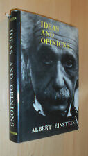 1954 Ideas and Opinions / Albert Einstein / Physics Science / Theory Relativity