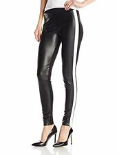 Sanctuary Clothing Nwt Women's Black White Ski Racer Stripe Legging Pants Medium