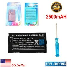 New Nintendo 3DS XL Rechargeable Battery 2500mAh With Tool Free Shipping US
