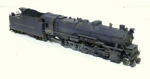 U. S. Hobbies I-1 2-10-0 Weathered - Pennsylvania - O Scale, 2-Rail, BRASS
