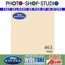 Savage #63 Ivory 2.72 X 11m Widetone Seamless Background Backdrop Paper Roll