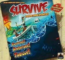 Survive Escape from Atlantis! Board Game 30th Anniversary Edition (New)