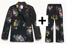 ERDEM X H&M THE FULL JACQUARD FLORAL SUIT/TROUSER & JACKET UK14 SOLD OUT ONLINE