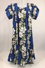 Vintage Hawaiian Dress Kalena Fashions of Hawaii Size Medium Aloha Muumuu