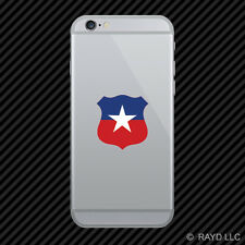 Chilean Air Force Roundel Cell Phone Sticker Mobile FACh Chile CHL CL