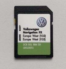 Vw Seat Skoda Stam 310 Amundsen dernière V10 2018 Navigation FX Carte SD West Europe