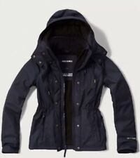 Abercrombie & Fitch Sz Large Womens Gray All-Season Weather Warrior Parka Jacket