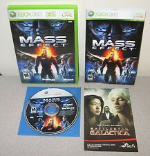 MASS EFFECT XBOX 360 Orig BlackLabel Complete w/Manual BioWare Classic Space RPG