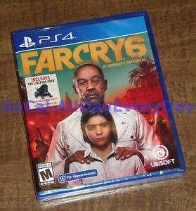 Far Cry 6 Launch Edition w/Libertad Pack (PlayStation 4, Physical) BRAND NEW ps4