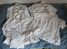 Job lot 10 white women's work shirts short and long sleeve - waitressing /office