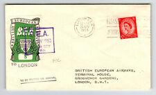 Great Britain 1953 Bea Flight Cover / London / Fdc - Z13739