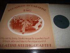 EX+ JIMMY SAVILLE ENDORSED LP STRANGER IN PARADISE WITH PALATINE STRING QUARTET