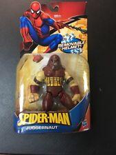 SPIDER-MAN JUGGERNAUT WITH REMOVABLE HELMET FIGURE SUPER HERO MIB MARVEL *RARE*