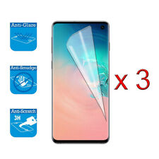 For Samsung Galaxy S10 - Screen Protector Cover Guard LCD Film Foil x 3