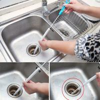 71cm Kitchen Tool Flexible Sink Overflow Drain Unblocker  Clean Brush Cleaner