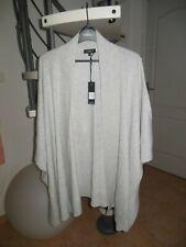 Gilet large ou cape  CAROLL. Taille S coupe large. NEUF 95 euros boutique.