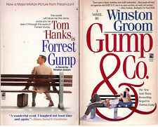 Complete Set Series - Lot of 3 Forrest Gump Books by Winston Groom (Movie Novel)