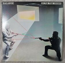 "BALANCE 1982 In For The Count 12"" Vinyl 33 LP (ARR 38019) Portrait HARD ROCK"