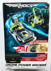 Radio Controlled Air Hogs Drone Power Racer Grey/Black
