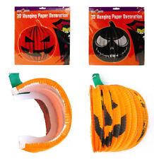 Festoni Halloween a fisarmonica Zucca