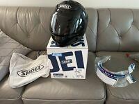 Shoei Motorcycle Helmet RF-1200 Black Medium RF1200