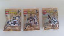 LEGO® Mixels Serie 5  (41536 - 41538) 3 Stück Neu&Ovp