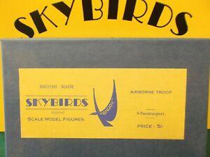 Skybirds Models. Set No 6 G.  Airborne Troops.