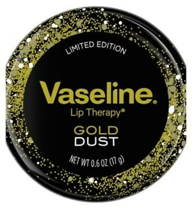 Vaseline Lip Therapy Limited Edition Gold Dust Lip Balm Tin 17g