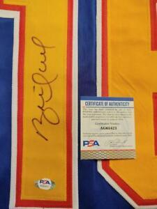 Brett Hull Autograph Auto St. Louis Blues Jersey PSA/DNA COA