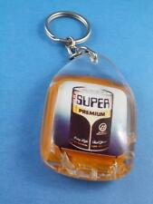 GULF GAS SUPER PREMIUM MOTOR OIL CAN COLLECTOR KEYCHAIN KEY RING FOB RARE