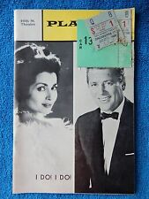I Do! I Do! - 46th Street Theatre Playbill w/Ticket - June 1st, 1968 - Lawrence