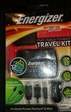 Energizer travel kit XP2000K. Universal Portable Power Pack