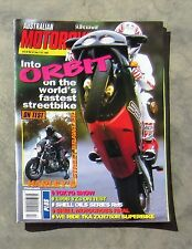 MOTORCYCLE NEWS AMCN Dec 1995 - BIMOTA SB6 BUELL LIGHTNING ZXR 750 YAMAHA YZ 250