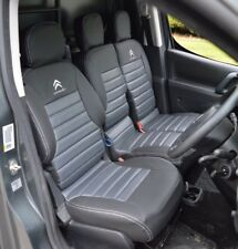 Citroen Berlingo / Peugeot Partner 2008+ Waterproof Tailored Quilted Seat Covers