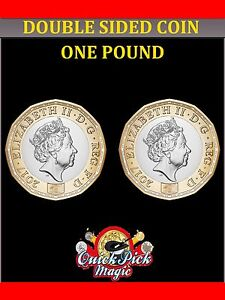 Double Sided Coin The New 12 Sided One Pound Coin £1 Double Headed - Double Tail