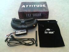 Fatshark Attitude V2 Goggles 5.8GHz FPV Batería cara placa/Carreras RC Drone