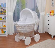 Waldin Baby Passeggino,Culla,Completare con Accessori, XXL Nuovo Bianco