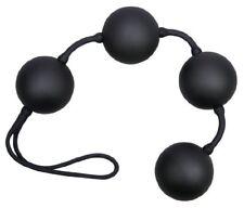 Palline Stimolanti cinesi a Corda nere You2toys Velvet 4 Balls Black Beads