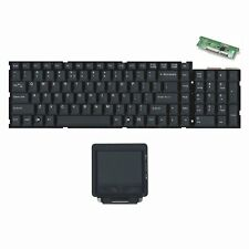 Scissor Key Switch Keyboard Module and Touchpad Trackpad Module for KVM Console