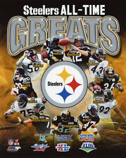 PITTSBURGH STEELERS All-Time Greats Glossy 8x10 Photo Print NFL Football Poster