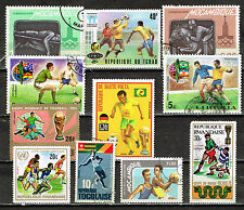 African Sport Soccer stamps 1960s