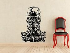 Terminator Wall Decal Judgment Day Vinyl Sticker Home Interior Decor Mural (74z)
