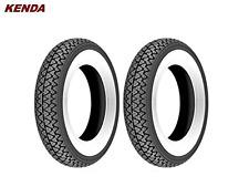 2 KENDA Weisswand Reifen - 3,00x10, 4PR, 42J, TT für Roller Vespa  (8)