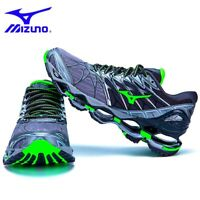 Mizuno Wave Prophecy 7 Men Running Shoes J1GC180009 Blue black New 18U