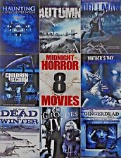 8Movie DVD GINGERDEAD In the Dead of Winter DOLLMAN Mothers Day Massacre AUTUMN