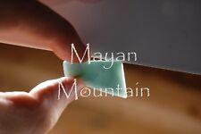 NATURAL UNTREATED BLUE JADEITE JADE REIKI PALM STONE HEALING CHAKRA CRYSTAL N