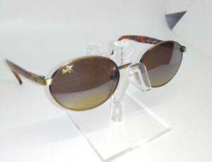 Rare MAUI JIM MJ-166-16 LATITUDE Sunglasses w/ Bronze HCL Polarized Lens