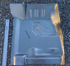 Floor Pan Front Cuda Challenger 70-74 Left Side  E-Body Mopar USA Panel