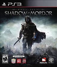 PS3 ACTION-MIDDLE EARTH:SHADOW OF MORDOR PS3 NEW