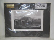 Antique Copper Plate Engraving Of Chester Drawn By F Nash Circa 1804